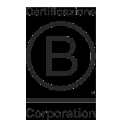 Logo della Certificazione B-Corporation